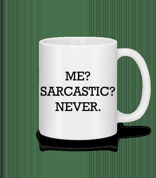 Sarcastic Me - Mug - White - Vorn