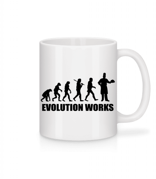 Evolution Works Cooking - Mug - White - Front