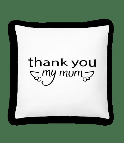 Thank You Mum - Cushion - White - Vorn