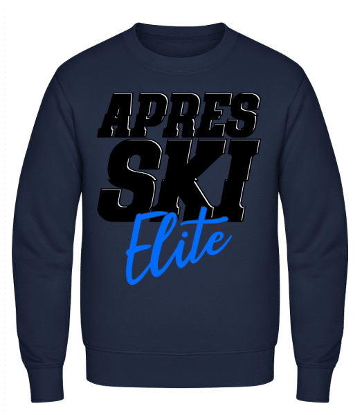 Apres Ski Elite - Classic Set-In Sweatshirt - Navy - Vorn