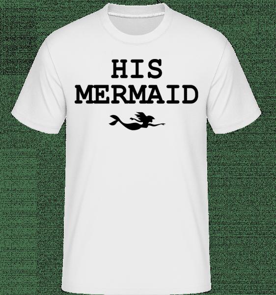 His Mermaid -  Shirtinator Men's T-Shirt - White - Vorn