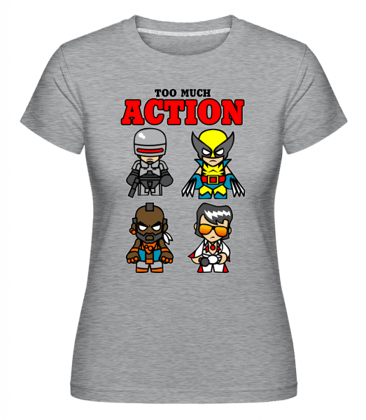Action -  Shirtinator Women's T-Shirt - Heather grey - Vorn
