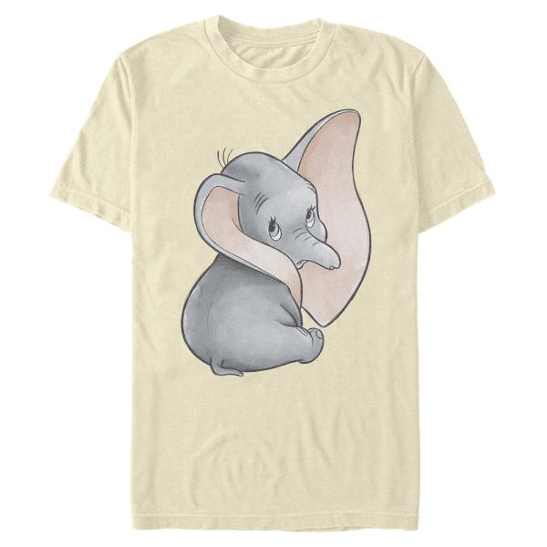 Just Dumbo - Disney - Men's T-Shirt - Cream - Front