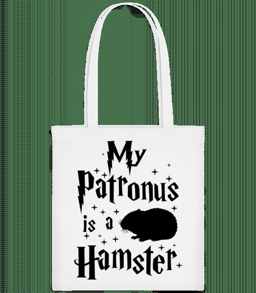 My Patronus Is A Hamster - Carrier Bag - White - Vorn