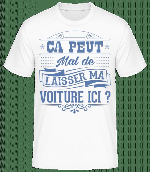 Ça Peut Mal? - T-shirt standard Homme - Blanc - Devant