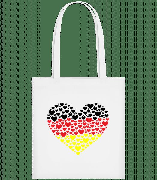 Hearts Germany - Carrier Bag - White - Vorn