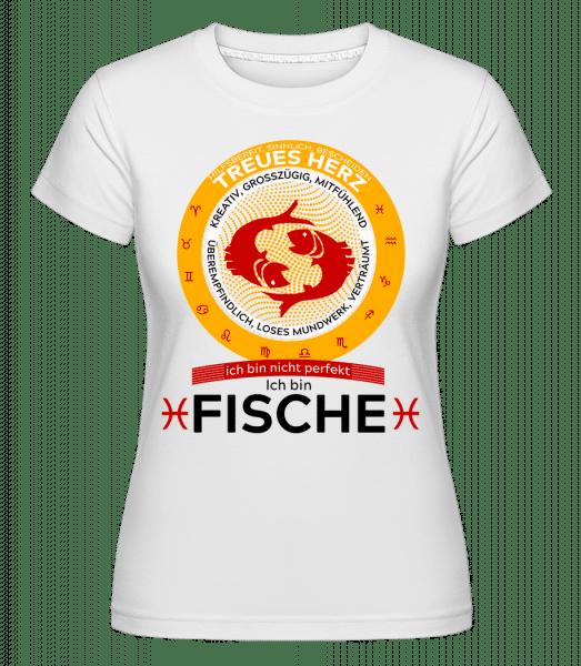 Sternzeichen Fische - Shirtinator Frauen T-Shirt - Weiß - Vorn