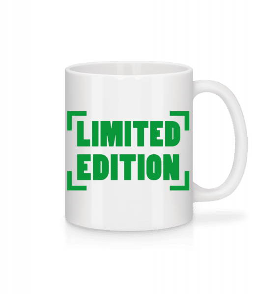 Limited Edition - Mug - White - Front