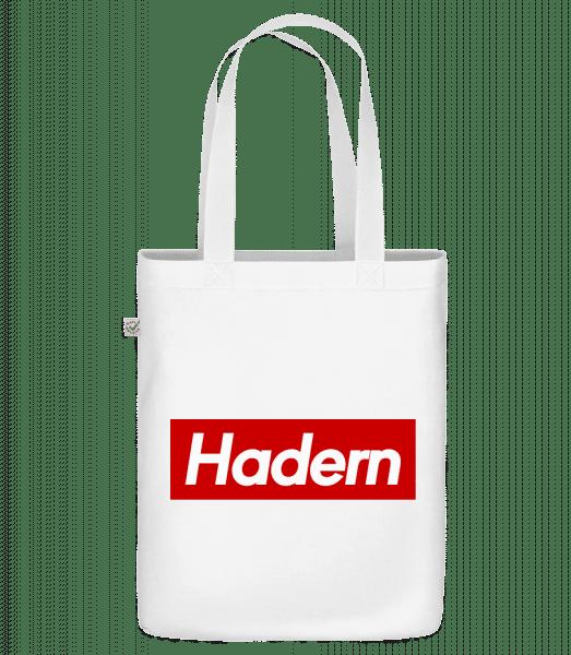 Hadern - Bio Tasche - Weiß - Vorn