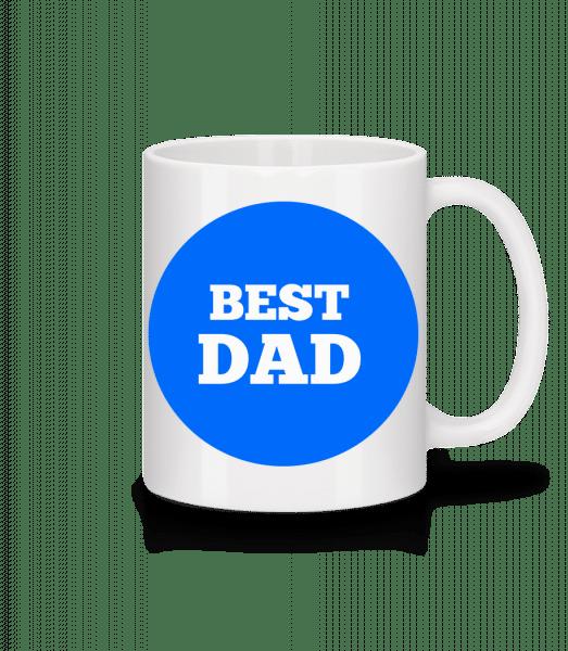 Best Dad - Tasse - Weiß - Vorn