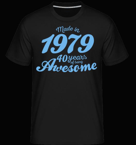 Made In 1979 40 Years -  Shirtinator Men's T-Shirt - Black - Vorn