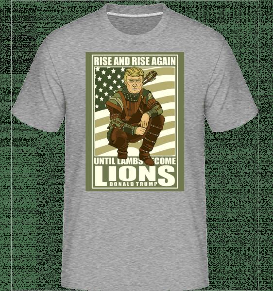 Robin Hood Trump -  Shirtinator Men's T-Shirt - Heather grey - Vorn