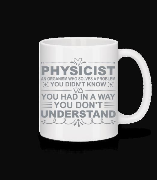 Physicist Solving Problems - Mug - White - Vorn
