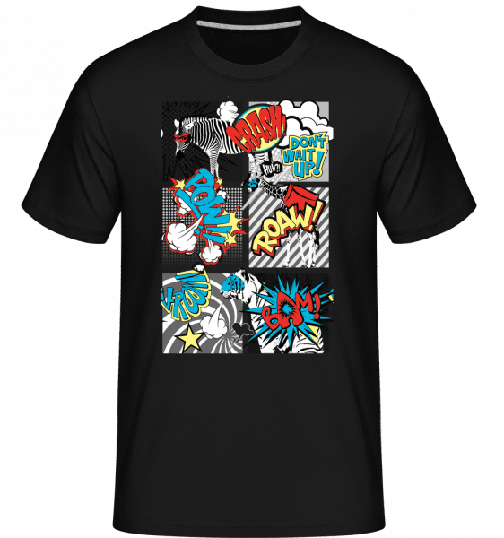 Cartoon Animals -  Shirtinator Men's T-Shirt - Black - Vorn