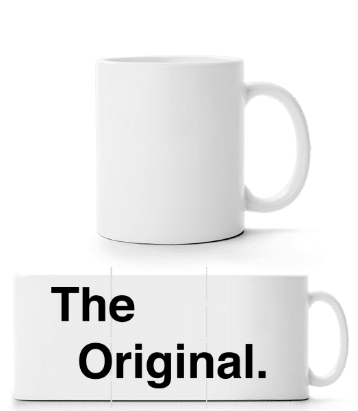 The Original - Panorama Mug - White - Front