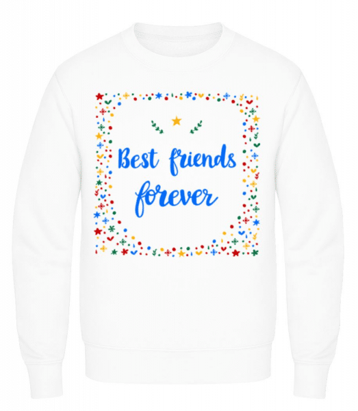 Best Friends Forever - Men's Sweatshirt - White - Front