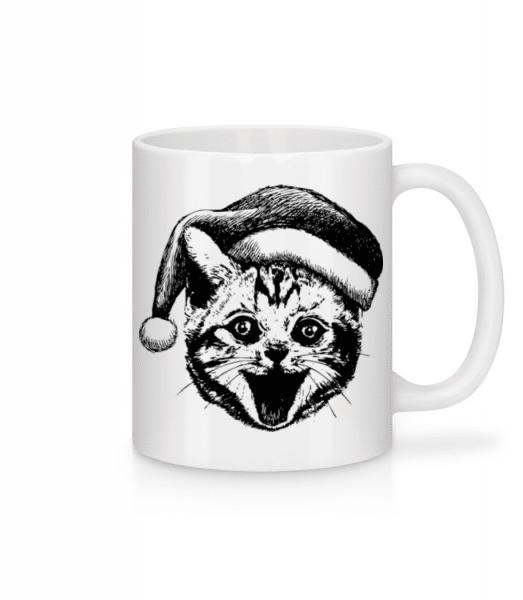 Christmas Cat - Mug - White - Front