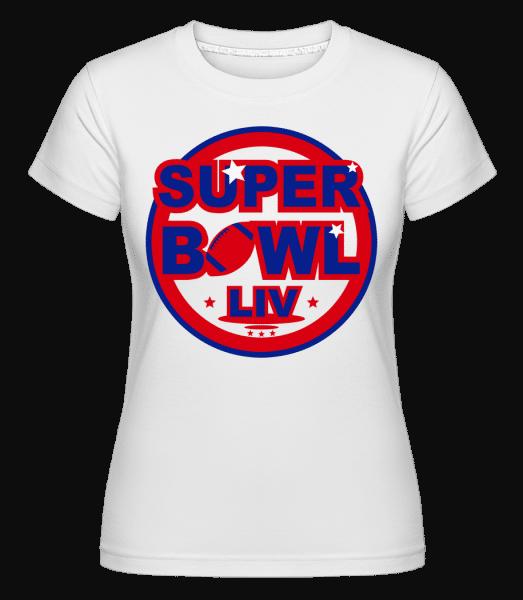 Super Bowl LIV -  Shirtinator Women's T-Shirt - White - Vorn