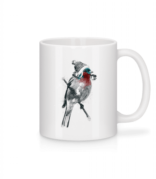 Christms Bird - Mug - White - Front