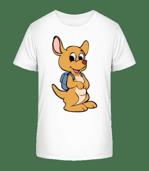 Cute Animal With Bag - Kid's Premium Bio T-Shirt - White - Vorn