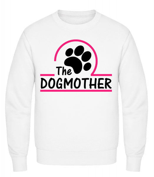 The Dogmother - Classic Set-In Sweatshirt - White - Vorn