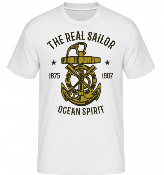 Ocean Spirit -  Shirtinator Men's T-Shirt - White - Front