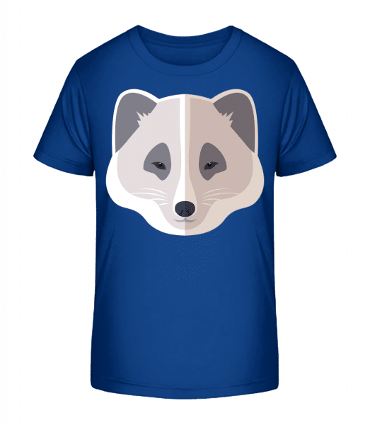 Racoon Comic Shadow - Kid's Premium Bio T-Shirt - Royal blue - Vorn