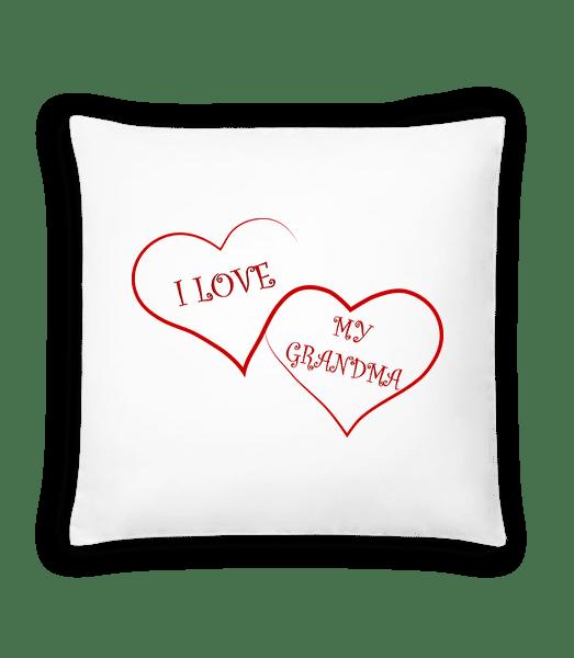 Love My Grandma - Cushion - White - Vorn