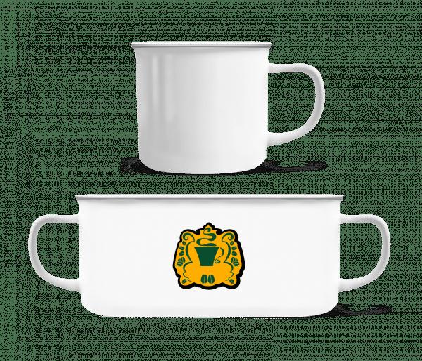 Coffee Logo - Enamel-cup - White - Vorn