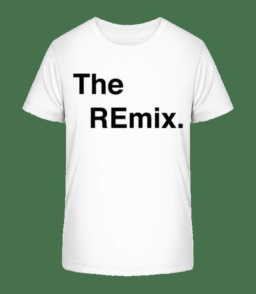 The REmix - Kid's Premium Bio T-Shirt - White - Vorn