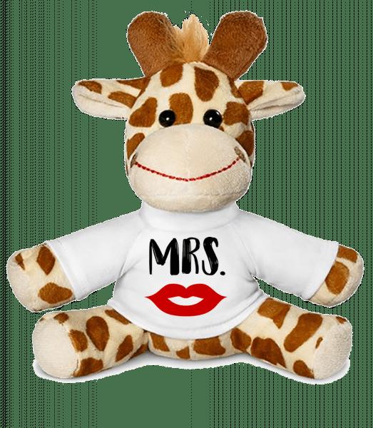 Mrs. - Giraffe - White - Vorn