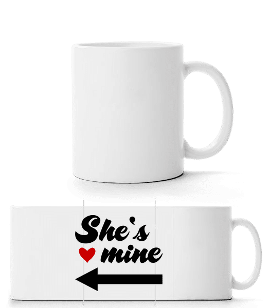 She Is Mine - Panorama Mug - White - Front