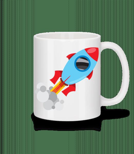 Superhero Rocket - Mug - White - Vorn