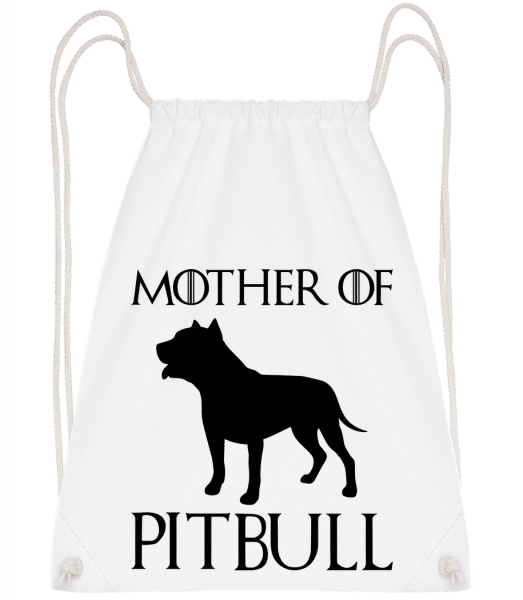Mother Of Pitbull - Turnbeutel - Weiß - Vorn