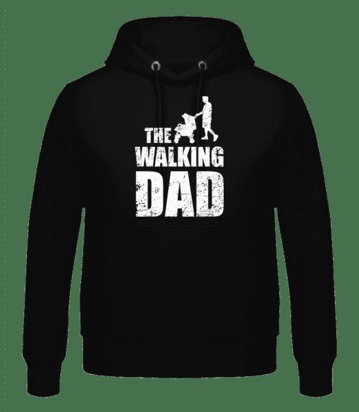 The Walking Dad - Men's Hoodie - Black - Vorn