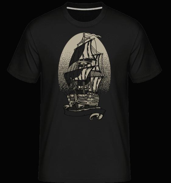 Ship -  Shirtinator Men's T-Shirt - Black - Vorn
