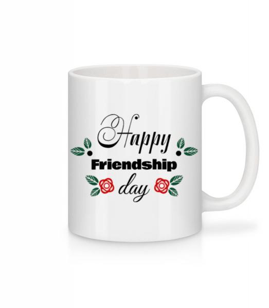 Happy Friendship Day - Mug - White - Front