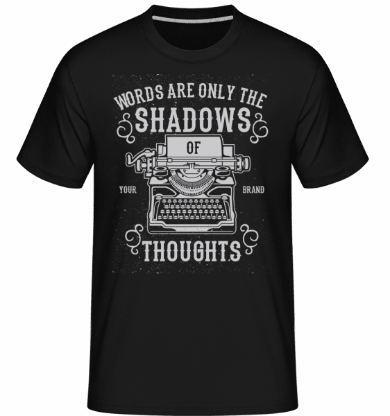 Shadows Of Thoughts -  Shirtinator Men's T-Shirt - Black - Front