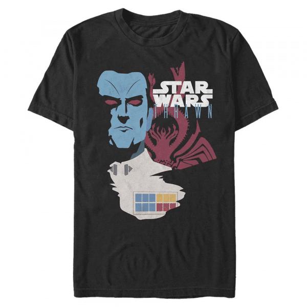 General Thrawn - Star Wars - Men's T-Shirt - Black - Front