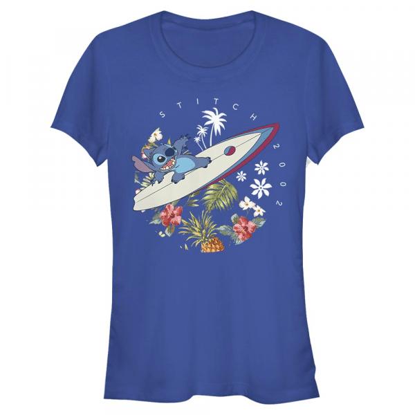 Surfer Dude - Disney Lilo & Stitch - Women's T-Shirt - Royal blue - Front