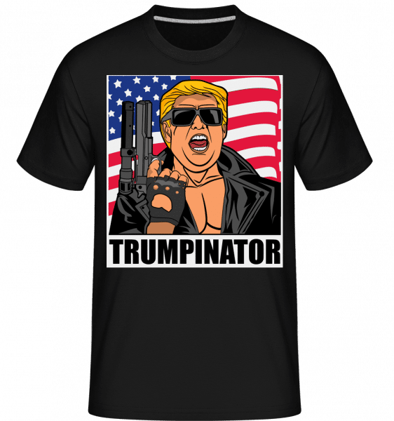 Trumpinator -  Shirtinator Men's T-Shirt - Black - Vorn