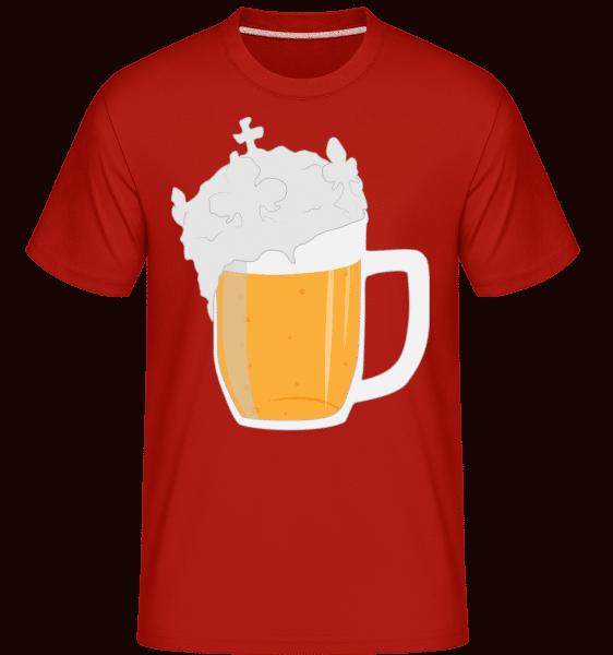 Beer -  Shirtinator Men's T-Shirt - Red - Vorn