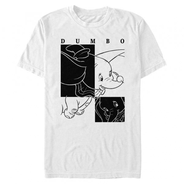 Dumbo Contrast - Disney - Men's T-Shirt - White - Front