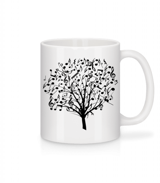 Music Tree - Mug - White - Vorn