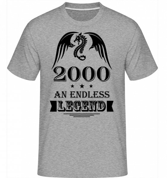 Endless Legend 2000 -  Shirtinator Men's T-Shirt - Heather grey - Vorn