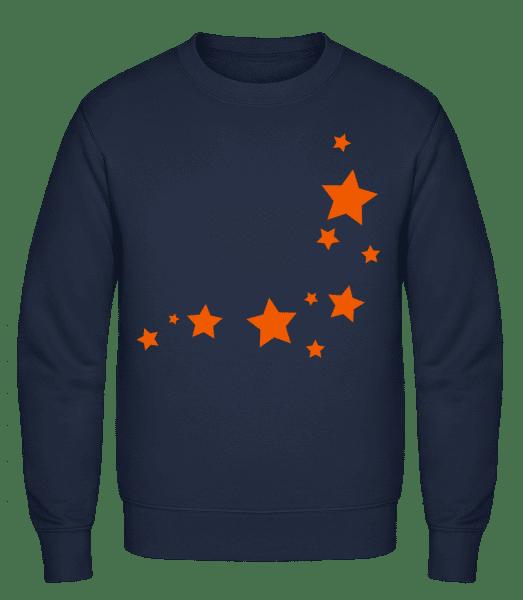 Stars - Classic Set-In Sweatshirt - Navy - Vorn