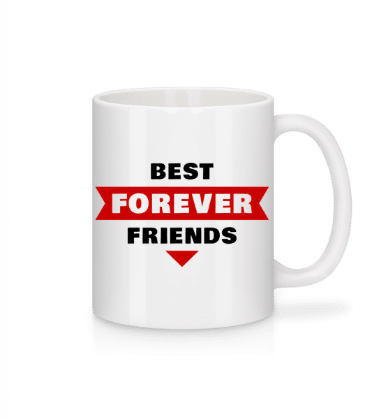 Best Friends Forever - Tasse - Weiß - Vorn