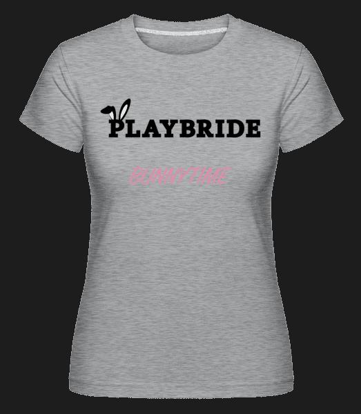 Playbride Bunnytime -  Shirtinator Women's T-Shirt - Heather grey - Vorn