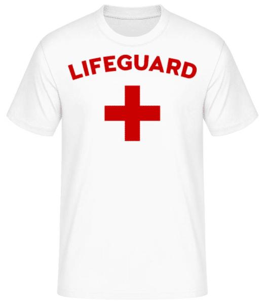 Lifeguard - Men's Basic T-Shirt - White - Front