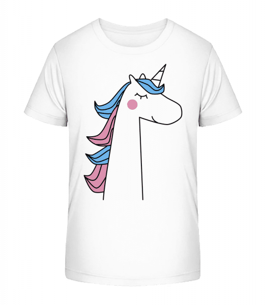 Cute Unicorn - Kid's Premium Bio T-Shirt - White - Vorn